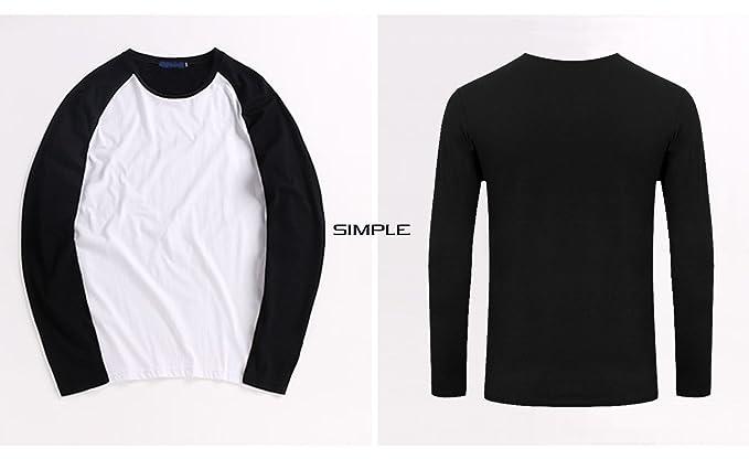c23d24ec1a79f Amazon.com  Ivory Ella Gift Lover 3D Graphic Men Casual T Shirt Baseball  Long Sleeve T-Shirt  Clothing