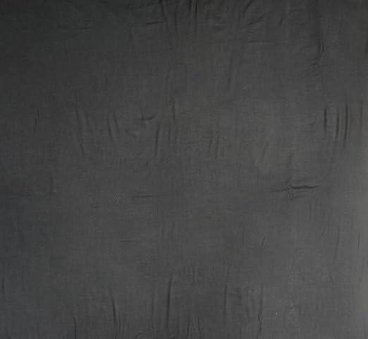 Algodón indio Modal Tela 56 Amplia Negro Material Tela de costura Per Yard: Amazon.es: Hogar