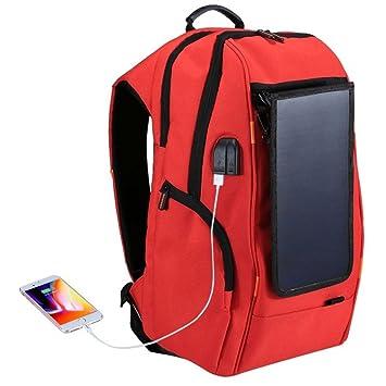 MTTLS Mochila De Carga Solar Resistente Al Agua Cargador USB ...