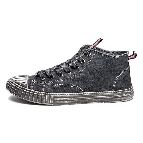 Hombres Zapatillas Skate Zapatos Agua Lavado Hacen Vieja Sucia Bola Zapatos Alta Transpirable Pisos Casual Zapatos para Caminar: Amazon.es: Zapatos y ...