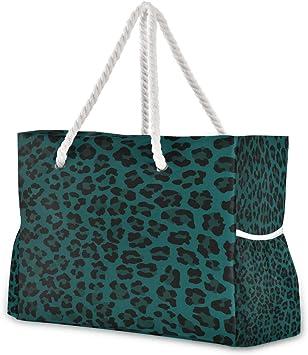 Net Bag Foldaway Blue Cotton Market Bag Ready to Ship Reusable Grocery Tote Summer Tote Beach Bag