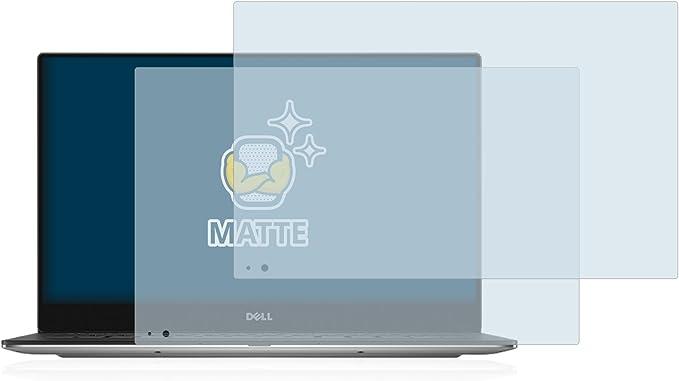Anti-Fingerprint BROTECT Entspiegelungs-Schutzfolie kompatibel mit Dell XPS 13 9360 QHD Touch Displayschutz-Folie Matt Anti-Reflex