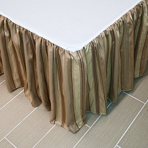 Austin Horn Classics San Tropez Luxury Bedskirt (King) (Bedskirt Austin)
