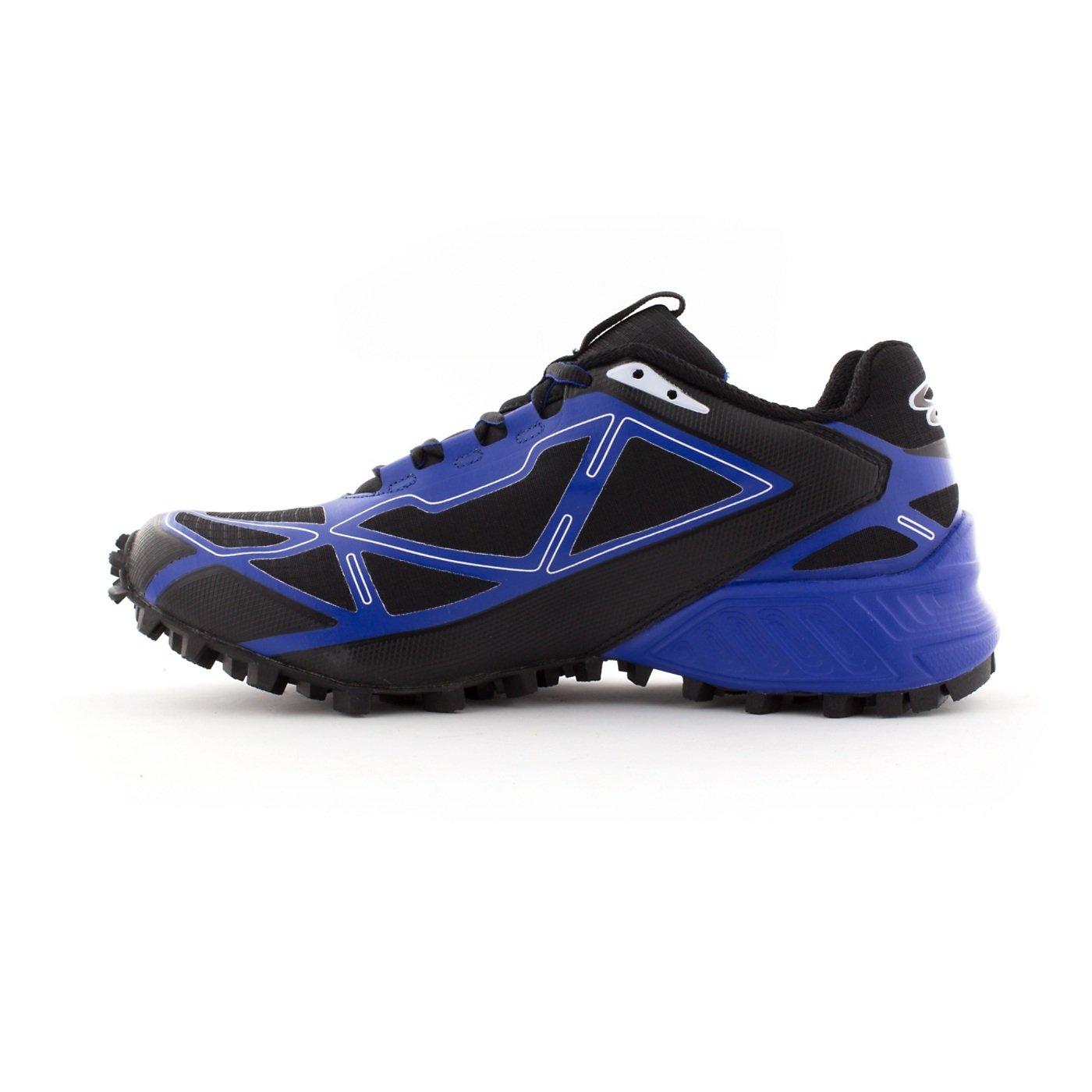 Boombah Men's Hellcat Trail Shoe - 14 Color Options - Multiple Sizes B073X6TNH2 14|Black/Royal