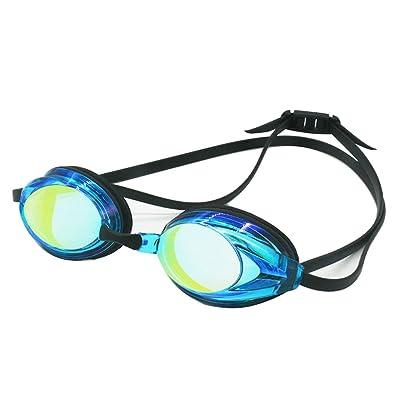 Sudook Coque en silicone étanche Lunettes de natation professionnel Lunettes de natation anti-buée protection UV Galvanoplastie