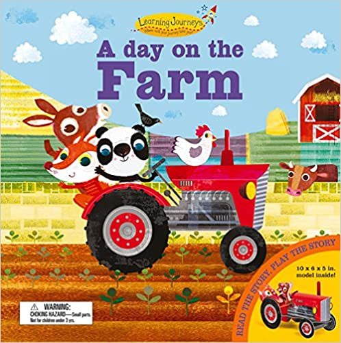 A Day on the Farm: Read the Story, Play the Story (Press Out & Build Model and Storybook)