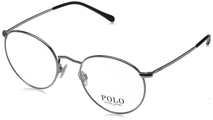 Ralph Lauren POLO 0PH1179 Monturas de gafas, Gunmetal, 51 para ...