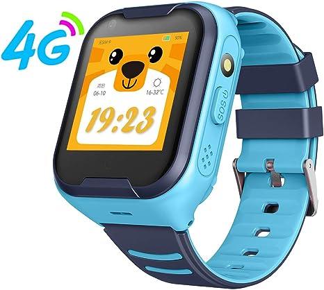 Amazon.com: XIAOMING G4H 4G Kids Smart Watch GPS WiFi Ip67 ...