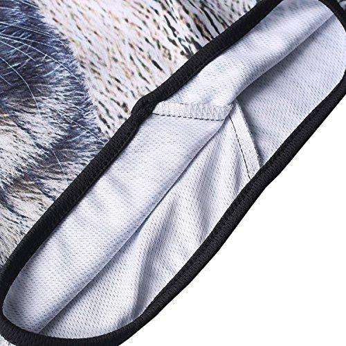 3D Animal Balaclava Cagoule Visage cou capot Masque pour Fête d'Halloween, Sports De Plein Air Moto Randonnée Vélo Ski Protection UV Coupe-vent Séchage Rapide Complet Chapeau