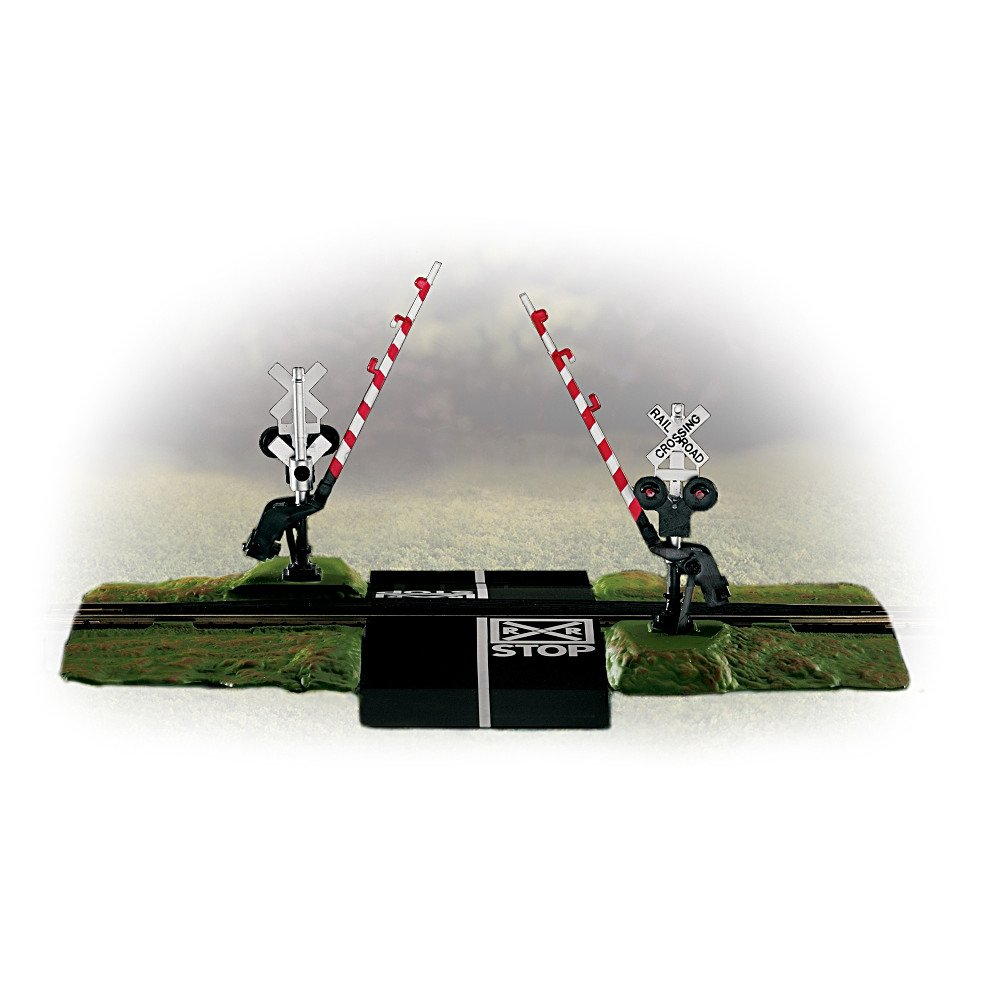 Summer Crossing Gate Train Accessory Set by The Bradford Exchange