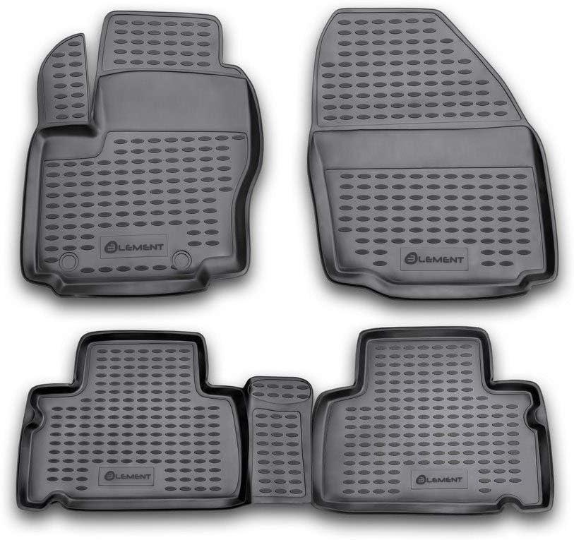 06-20 Element EXP.NLC.16.12.210 Premium Alfombrillas de Goma Antideslizantes para Ford S-MAX a/ño Color Negro