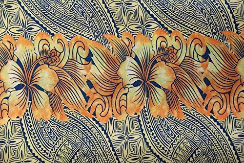 Hibiscus Print Fabric - 2