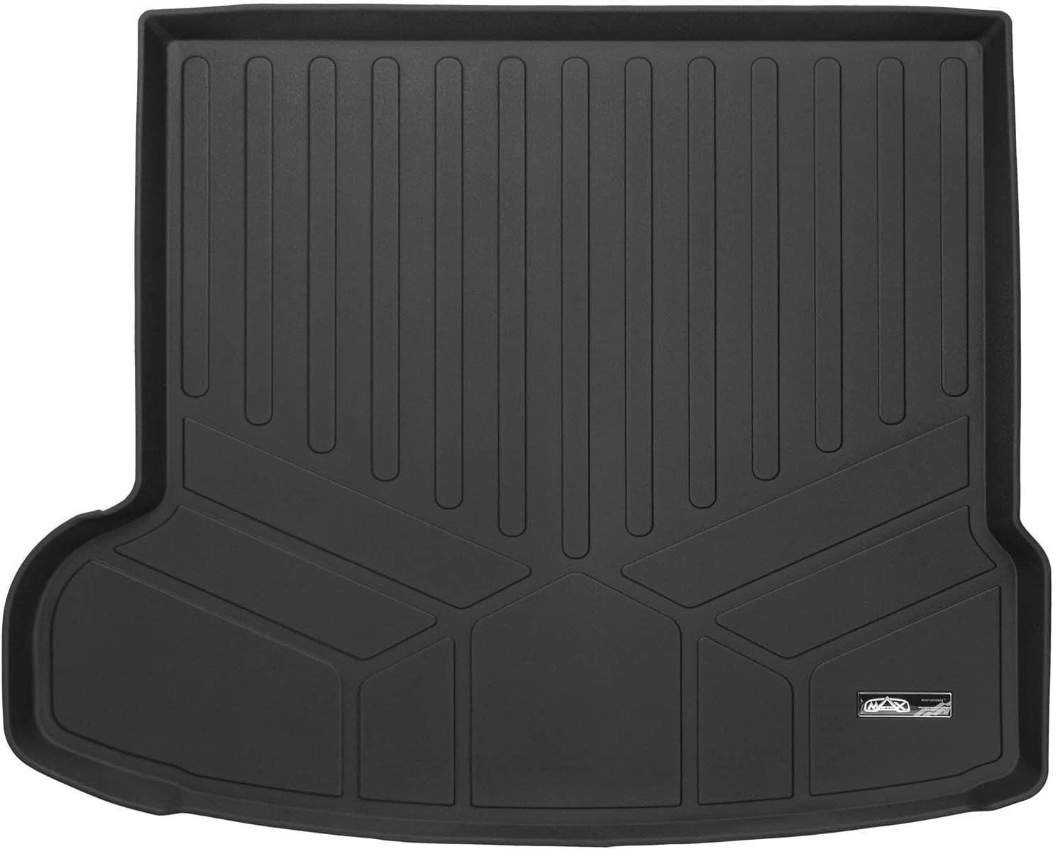 SMARTLINER All Weather Custom Fit Cargo Trunk Liner Floor Mat Black for 2017-2019 Jaguar F-Pace / 2018-2019 Range Rover Velar