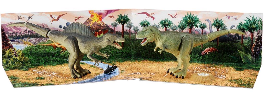Ania AG-02 rivales de dinosaurios carnivoros choque fijaron