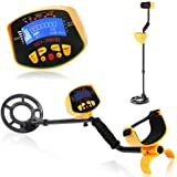 KKmoon Metal Detector, Metal Detector High Accuracy Waterproof 2 Modes Outdoor Gold Digger with Sensitive