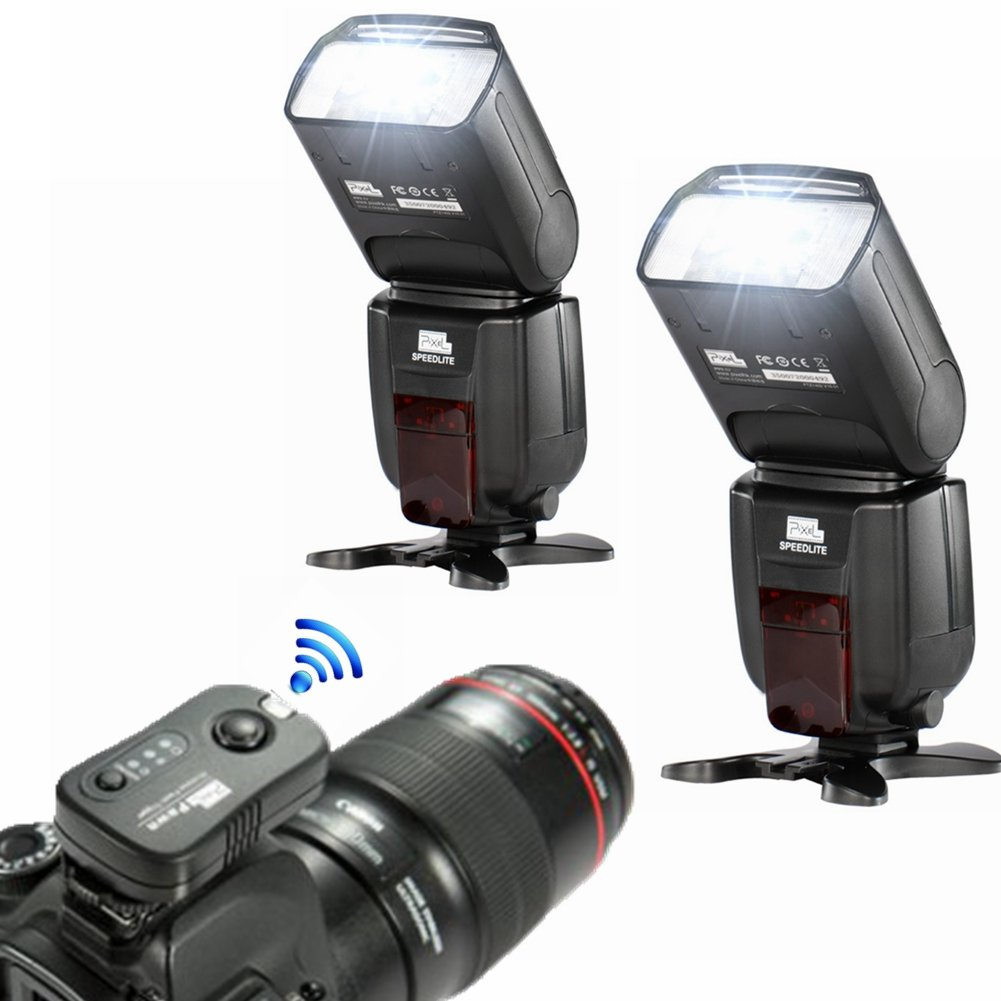 Flash Speedlite Tf362,transmisor Para Nikon D7200 D7000.....