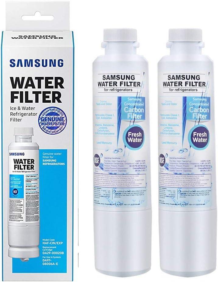 Original samsung da29-00020b water filter haf-cin//exp da97-08006a-b
