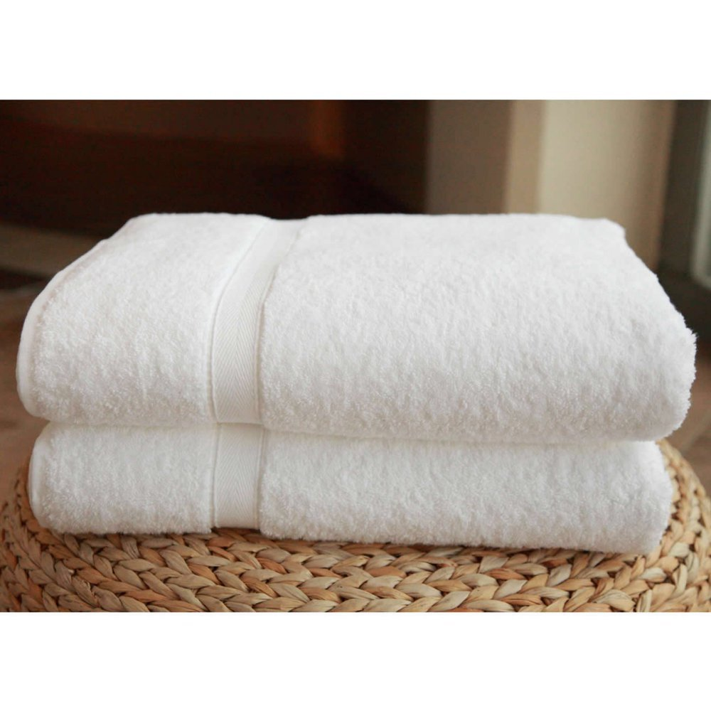 Luxury Hotel & Spa Turkish Cotton Bath Sheets - Set of 2