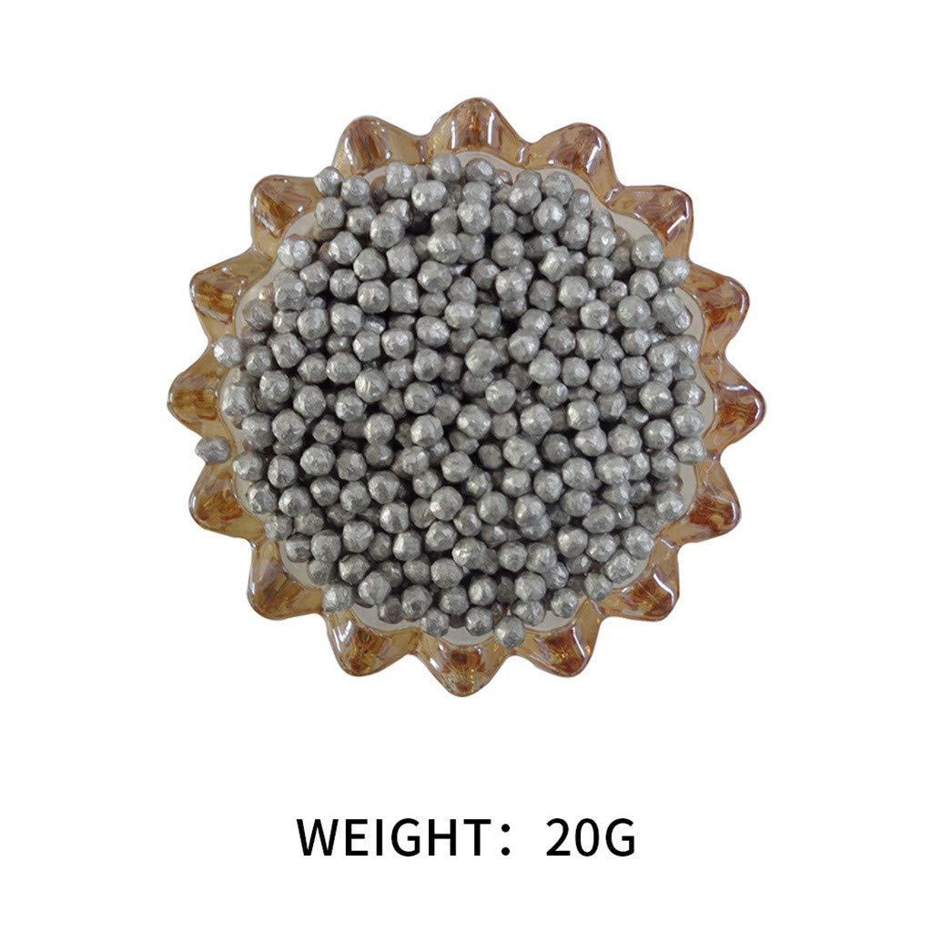 Yu2d  Magnesium(Mg) Metal Negative Potential Magnesium Particle Negative Potential Ball(Brown)