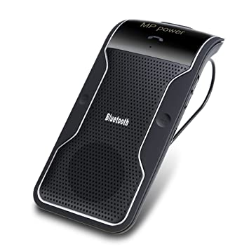 MP power @ Inalámbrico Bluetooth Altavoz manos libres Coche Kit para teléfono inteligente Iphone 6 Plus