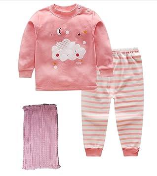 2e3c57b76b57f ベビー キッズ パジャマ 女の子 子供服 上下セット ルームウェア 寝巻き カジュアル セットアップ ピンク 0