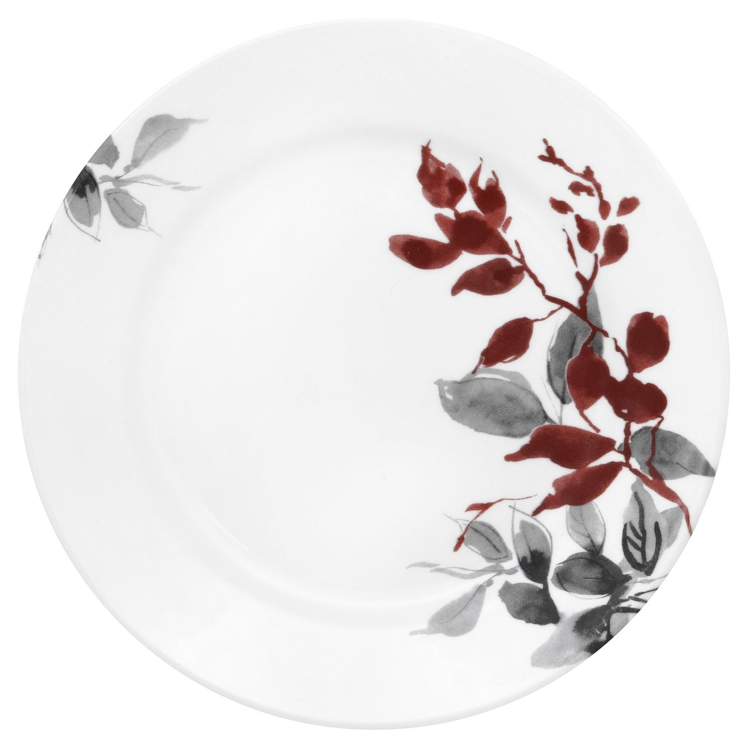Corelle Boutique Kyoto Leaves Round 8.5'' Lunch Plate (Set of 4)