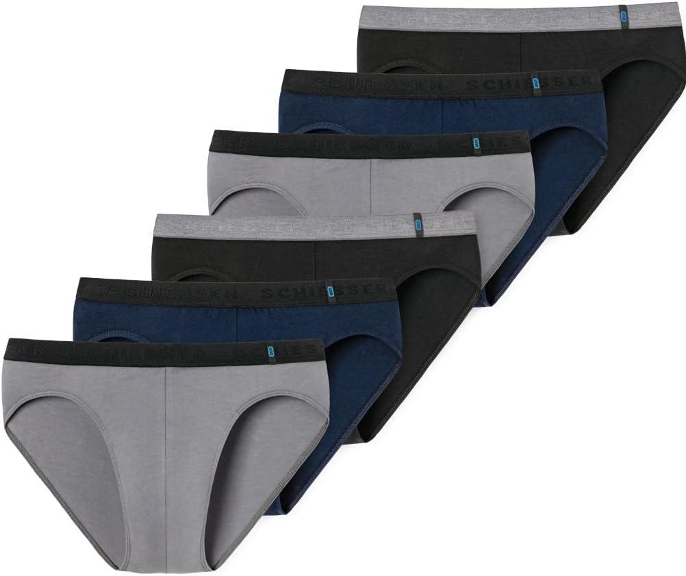Schiesser Rio 955 Slip voor heren, verpakking van 3 stuks
