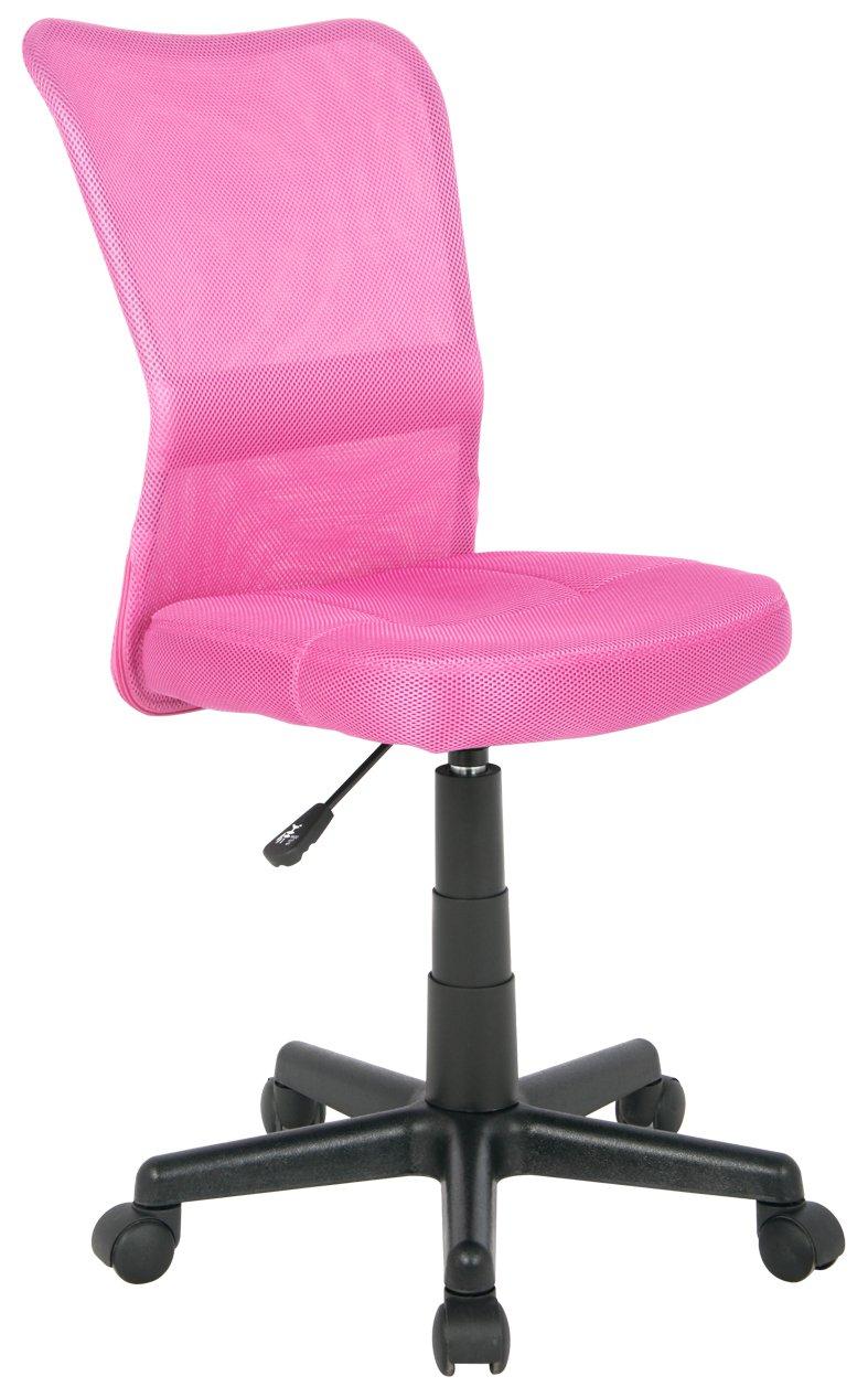SixBros. Sedia ufficio sedia girevole fuchsia - H-298F/1412 ...