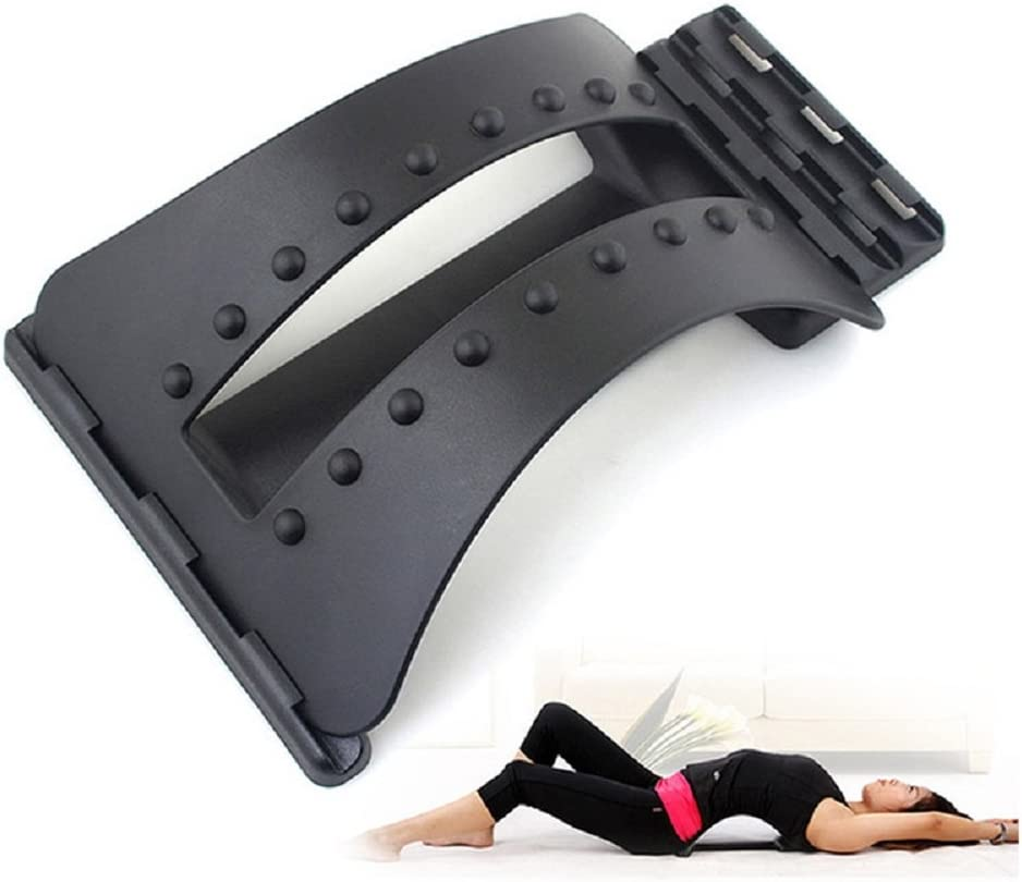 unbrand Back Massage Magic Stretcher Fitness Equipment Stretch Relax Mate Stretcher Lumbar Support Spine Pain Relief Chiropractic