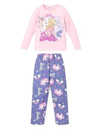 c73f754a79 Barbie Mattel - Pijama - para niña  Amazon.es  Ropa y accesorios