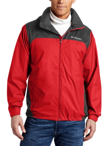 Tall Glennaker Lake Packable Rain Jacket,Bright Red/Grill,3X ()