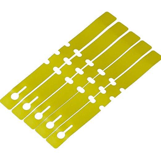 RMISODO - Etiquetas de jardín para macetas, 100 Unidades, plástico ...