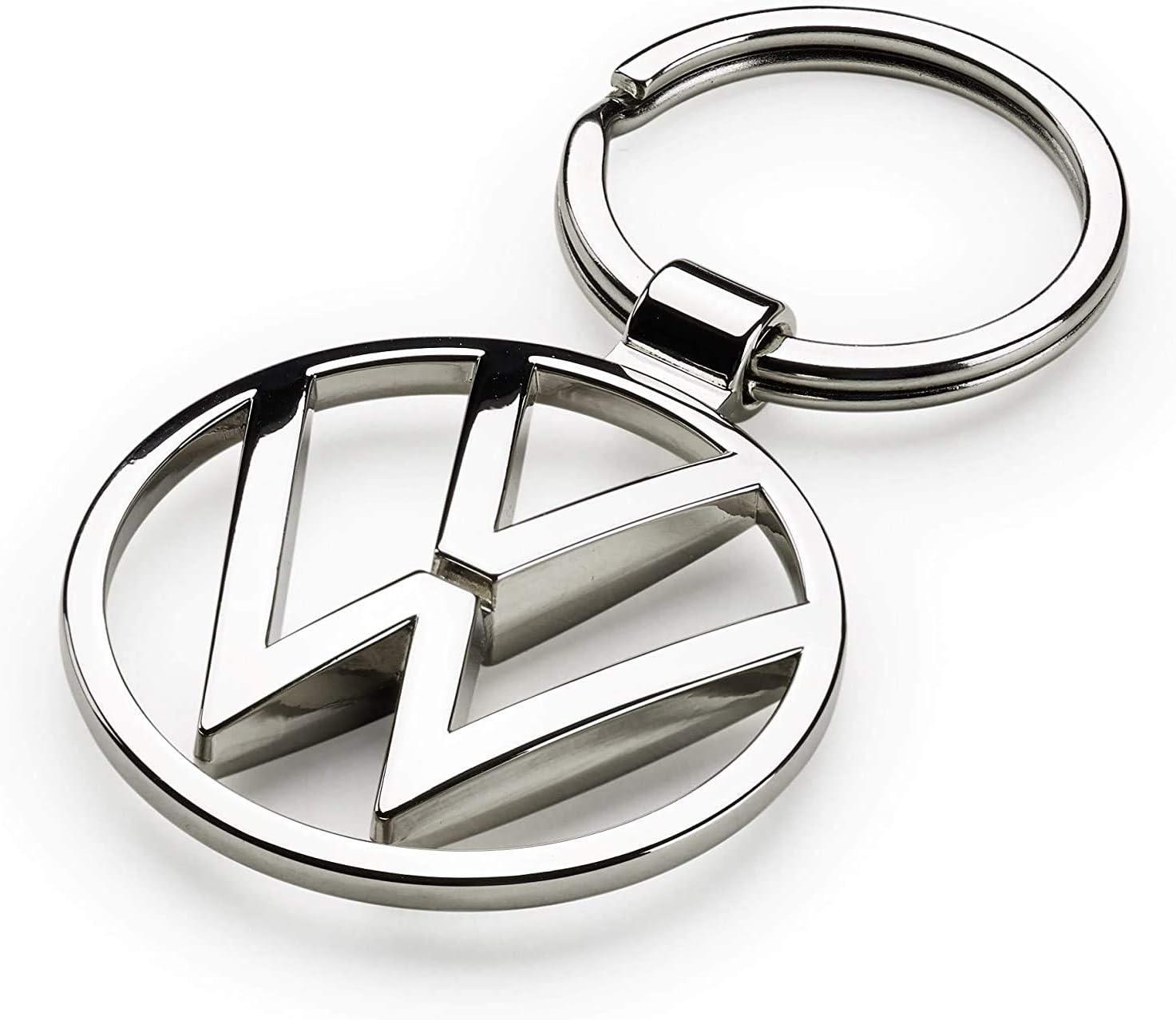 Volkswagen 000087010BN - Llavero de metal con colgante, color plateado