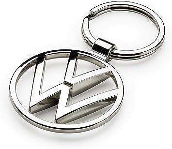 Volkswagen 000087010bn Schlüsselanhänger Vw New Metall Keyring Anhänger Silber Auto