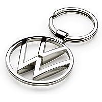 Volkswagen 000087010BN sleutelhanger VW New Metal Keyring hanger, zilver