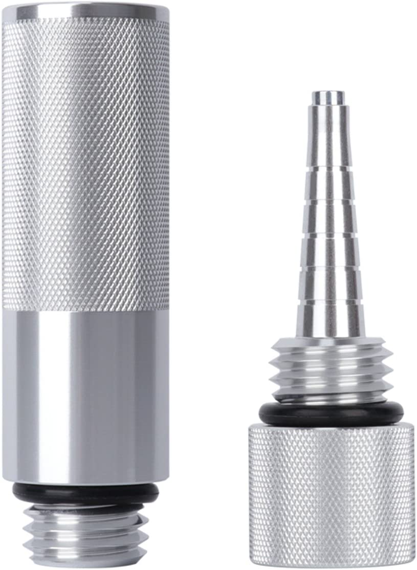 Yoursme Silver Mess Free Oil Change Funnel, Magnetic Oil Dipstick for Honda Generator EU1000i EU2000i
