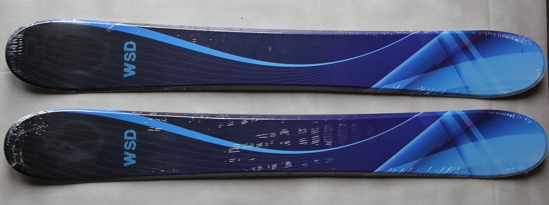 Skiboards Ski boards WSD BlueWave 100cm Wide skiboards pair with Tyrolia adult SX10 bindings New