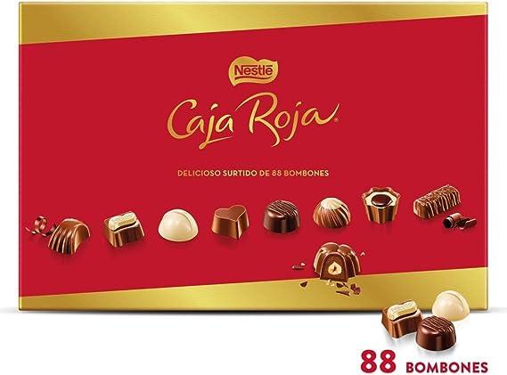 Nestlé Caja Roja Bombones de Chocolate, 800g: Amazon.es ...