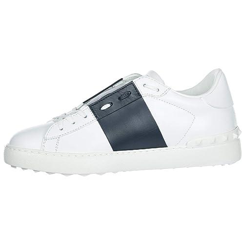 Sneakers Open BluAmazon it Valentino Nuove Scarpe In Donna Pelle hrCstdQx