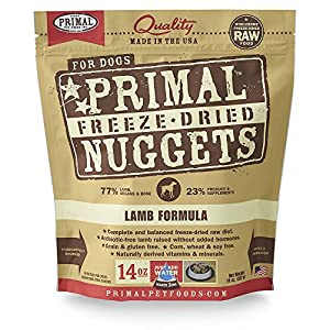 Primal Freeze Dried Dog Food Lamb Formula 12