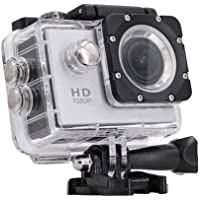 Rewy WE-8600 Waterproof Sports Action 1080p Camera with Micro SD Card Slot and Multi Language Video 12MP 2-inch