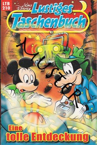 Walt Disney: LTB Lustiges Taschenbuch Band 210: Eine tolle Entdeckung - Donald Duck und Micky Maus Comics für deine Sammlung Taschenbuch – 2003 Egmont Ehapa Media Bild B01DYDUKP4 Comics & Mangas