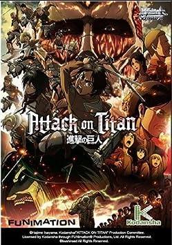 Weiss Schwarz Attack On Titan Anime Card Game - English Weis Starter Trial Deck - 50 cards by Weiss Schwarz: Amazon.es: Juguetes y juegos
