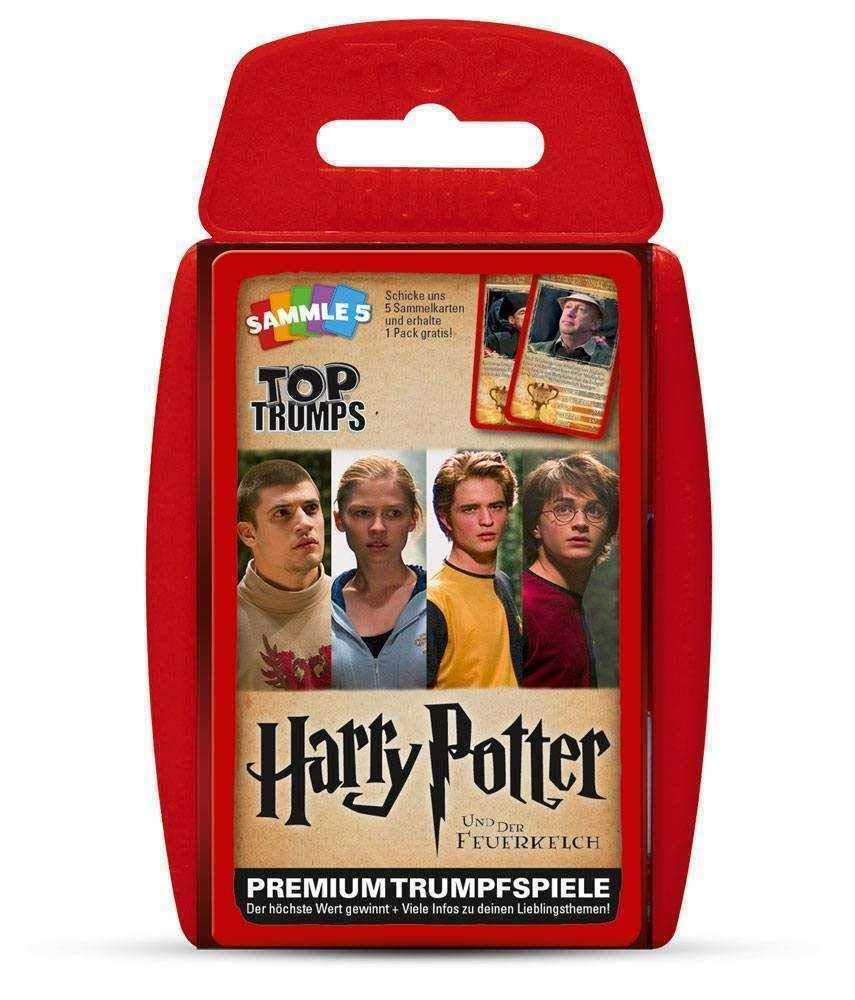 Harry Potter y el C/áliz de Fuego Juego Winning Moves GmbH win62813/No Top Trumps