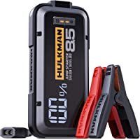 $99 » HULKMAN Alpha85 Jump Starter 2000 Amp 20000mAh Car Starter for up to 8.5L Gas…