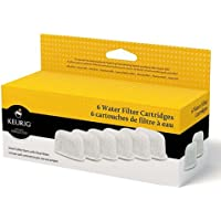 Water Filter Refill Cartridges, 6 count, For use with Keurig 2.0 and 1.0/Classic K-Cup Pod Coffee Makers