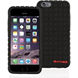 iPhone 6 / 6s Plus Case, Snugg - Black Silicone Cover With Lifetime Guarantee - Protective Back Case for Apple iPhone 6 / 6s Plus (2015)