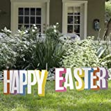 Outdoor Nativity Store Happy Easter Yard Sign