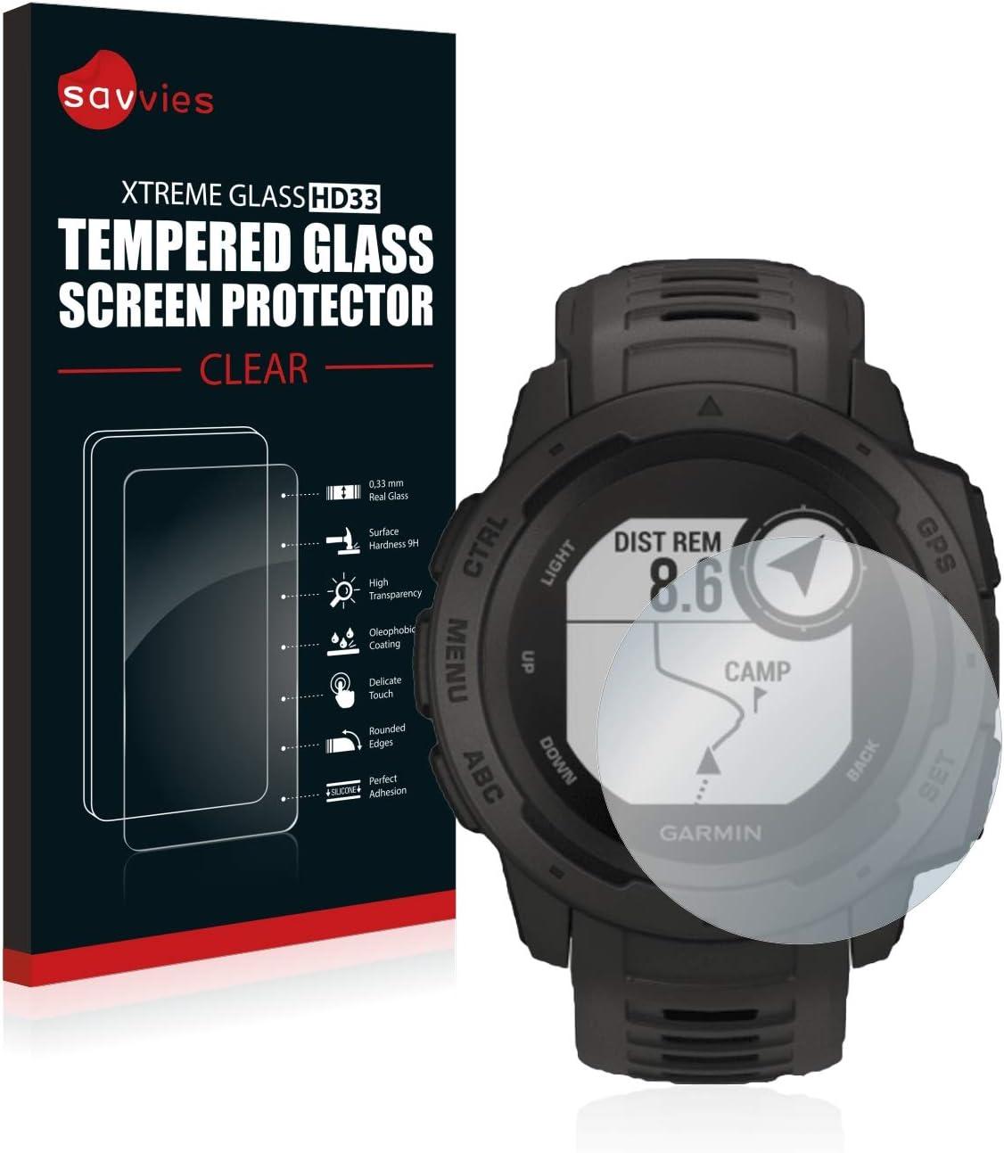 Savvies Panzerglas Kompatibel Mit Garmin Instinct Solar Elektronik