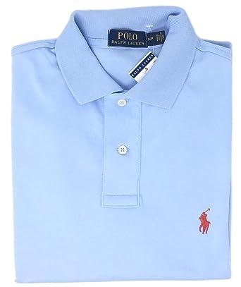 Men Polo Ralph Medium Interlock ShirtxlElite Lauren Blue Fit hdQCsrt